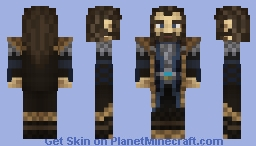 Thorin II Oakenshield Minecraft Skin
