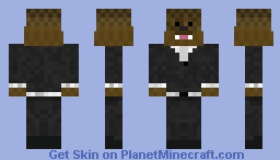 To Tie? Or not to Tie? Bacca Minecraft Skin