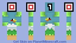 Flappy Bird?! Minecraft Skin