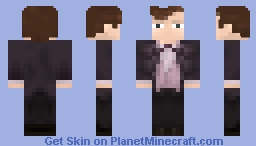 The Eleventh Doctor (Matt Smith) Minecraft Skin
