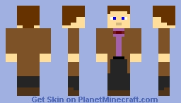 Doctor Who 11th Doctor Minecraft Skin