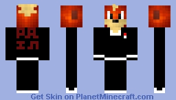Growlithe in a suit one of my favorite creations Minecraft Skin