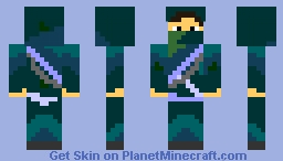 Green Ninja Dude - Minecraft Skin