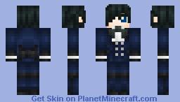 Ciel Phantomhive (Kuroshitsuji / Black Butler) (3D) (GuitarMaster's Contest) ςђєггץ Minecraft