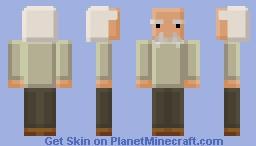 Albert Einstein (Blockified Minecraft