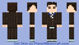 10th Doctor (David Tennant) Minecraft Skin