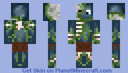 Zombie Squid (Alvalo's Skin) (Undead)