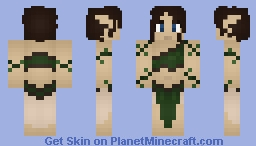 Druid Girl Minecraft