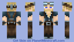 Engineer(Made by Linken) - Blue Eyes Minecraft Skin