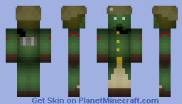 Atlantis the lost empire expeditionary solider Minecraft