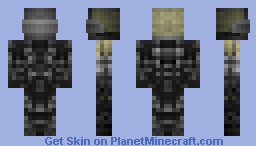 Halo, E.V.A Spartan Armour Minecraft Skin