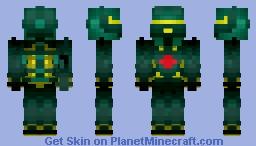 Halo Space Warrior (1.8 test) Minecraft Skin