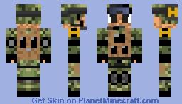 Dead Island (Hero) Minecraft Skin