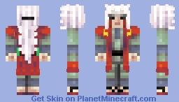 Jiraiya - Naruto Shippuden Minecraft Skin