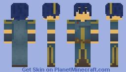 Marth (Fire Emblem) Minecraft Skin