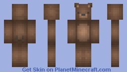 Bear :3 Minecraft Skin
