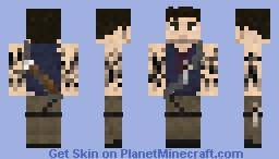 The Legend of Rook; Jason Brody Minecraft Skin