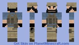 Private security Minecraft Skin