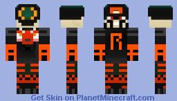 Razor's Armor Minecraft Skin