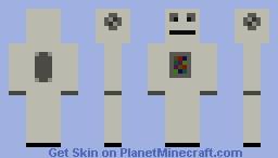 Simple Robot Minecraft Skin