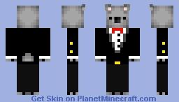 A FREAKING KOALA SUIT Minecraft Skin