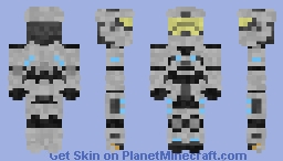Spartan-0000 'Default' (1.8) Request Your Own Spartan Minecraft Skin