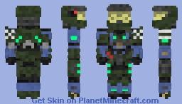 Spartan-1037 'Logic' (1.8) Minecraft Skin