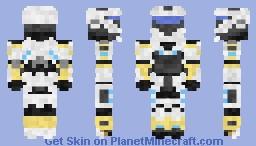 Spartan-4032 ' Lily' (1.8) Minecraft Skin