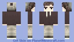 Sepia Dude IDK Minecraft Skin