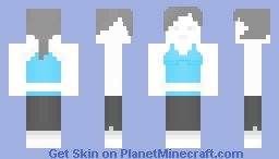 Wii Fit Trainer (for Shady_Moma's contest) Minecraft Skin