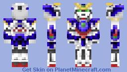 Gundam Wing ZERO (1.8)  from Gundam Wing Minecraft Skin
