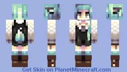 Winter Wolf Minecraft Skin