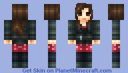 Clara Oswin Oswald (Doctor Who 50th Anniversary Skin Series)