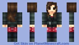 Clara Oswin Oswald (Doctor Who 50th Anniversary Skin Series) Minecraft Skin