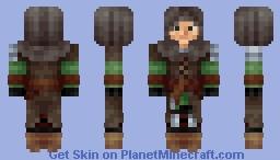 Wanderer / Swordsman - Dark Souls / Dark Souls 2 Minecraft Skin
