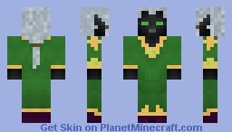 Drow - Alternate version Minecraft Skin