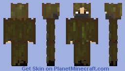 Ghillie suit [1.7 skin test] Minecraft Skin
