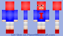 Iron pants - Based on the phone game Minecraft Skin
