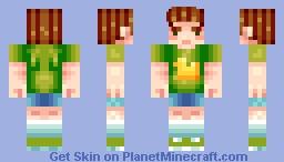 Super kawai boy Minecraft Skin