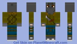 Metro 2033 Russian Stalker 2 Minecraft Skin