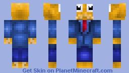 Octodad : Dadliest Catch Minecraft Skin