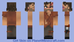 Rick Grimes - The Walking Dead (TV Series Season 4) Minecraft