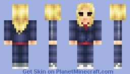 Rose Tyler (Doctor Who 50th Anniversary Skin Series) Minecraft Skin
