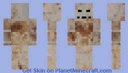 Rusty the robot Minecraft Skin