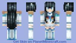 Kill La Kill - Satsuki Kiryuin 【New Skin Template!】 Minecraft