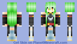 ❤∂αηιcα❤ - C.C. / C.2. - Code Geass (Season 2) Minecraft Skin