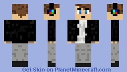DJ MC Minecraft Skin