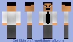 Tie-man Minecraft Skin