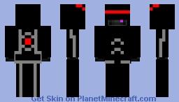 Robo Ender Slime Minecraft Skin