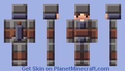 Northern Knight [Blocky] Minecraft Skin